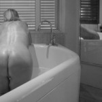 Naked ass of wet mature escort